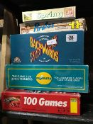 5 ASSORTED BOXED GAMES