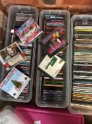 3 CARTONS OF CD'S - CHRISTMAS THEMES, COUNTRY MUSIC & SYNTHESIZER MUSIC