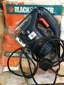 BLACK & DECKER JIG SAW MODEL KS 630