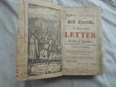 HORNECK, A. The Happy Ascetick… 2nd. ed. 1636, London, 8vo cont. fl. cf. engrvd. port. frontis.