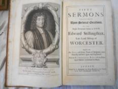 STILLINGFLEET, E. Fifty Sermons Preached Upon Several Occasions 1707, London, engrvd. port. frontis.