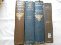RUSSO-JAPANESE WAR JAMES, D.H. The Siege of Port Arthur 1905, London, 8vo orig. gt. dec. cl. plus