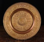 A Gilt Copper Copy of 'The Temperance Dish' after François Briot French (1550-1615 or later)