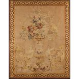A Small Late 18th Century Aubusson Tapestry Wall Hanging.