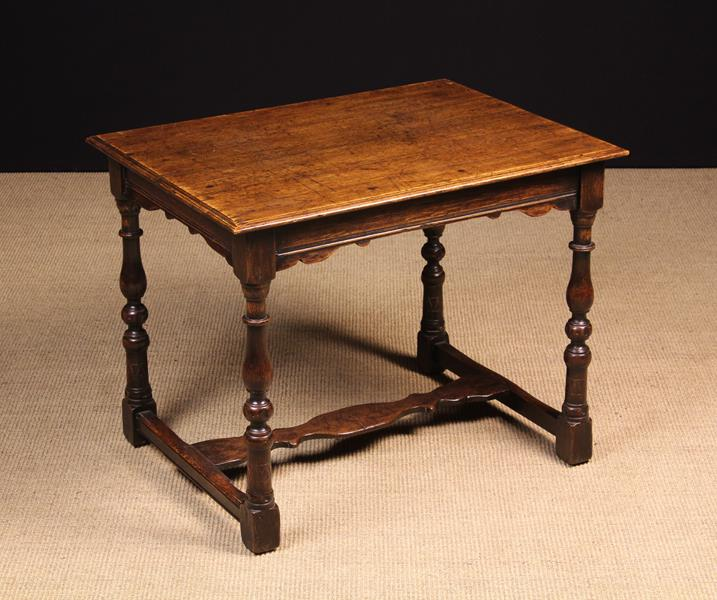 A Low 19th Century Oak Centre/Occasional Table.