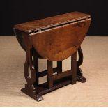 A Late 17th Century Oak Gateleg Table.