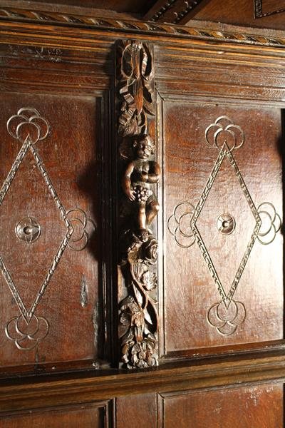 A 17th Century Style Carved Oak Full Tester Bed incorporating some period elements. - Image 2 of 2