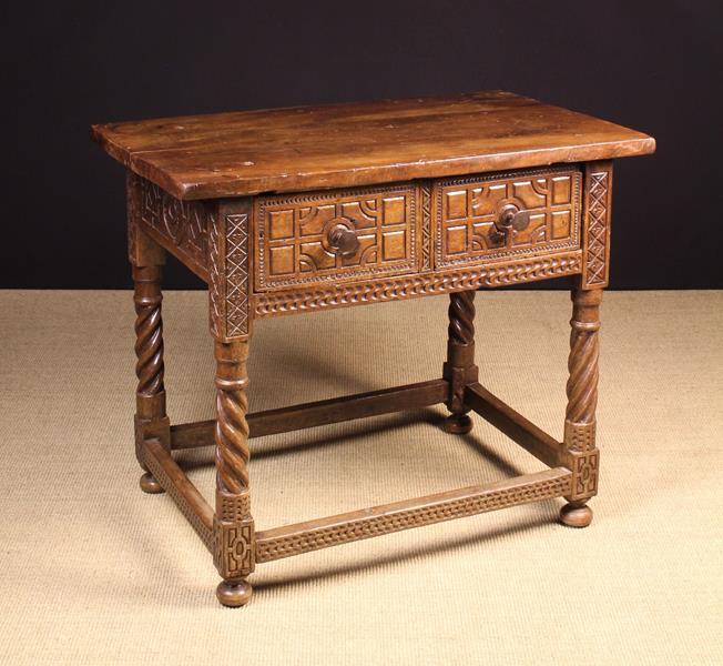 An Early 18th Century Walnut Spanish Table.