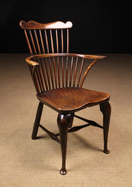 A Late 18th/Early 19th Century Comb-back Windsor Armchair of good colour & patination.