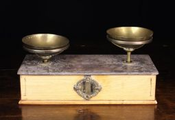 A Pair of 19th Century Apothecary or Counter Scales by Maison Beranger of Usine-Mulatiere, Lyon.