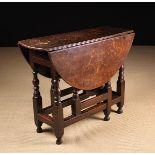 A Small Late 17th/Early 18th Century Oak Gateleg Table.