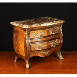 A 19th Century Miniature Commode in the Louis XV Style.