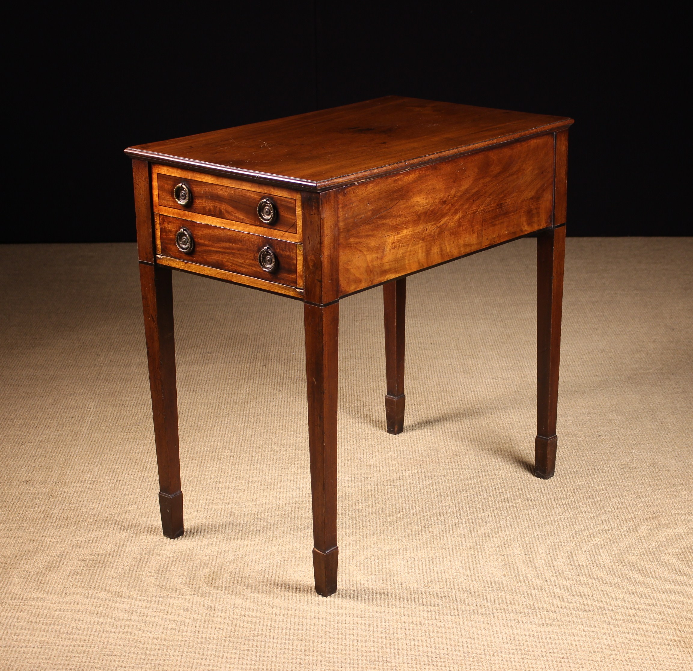 A Rare 19th Century Mahogany Metamorphic Side Table/Library Steps. - Image 2 of 2