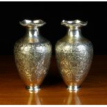 A Pair of Fine Ottoman Silver Vases.