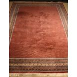 An Attractive Indian Wool Pile Carpet.