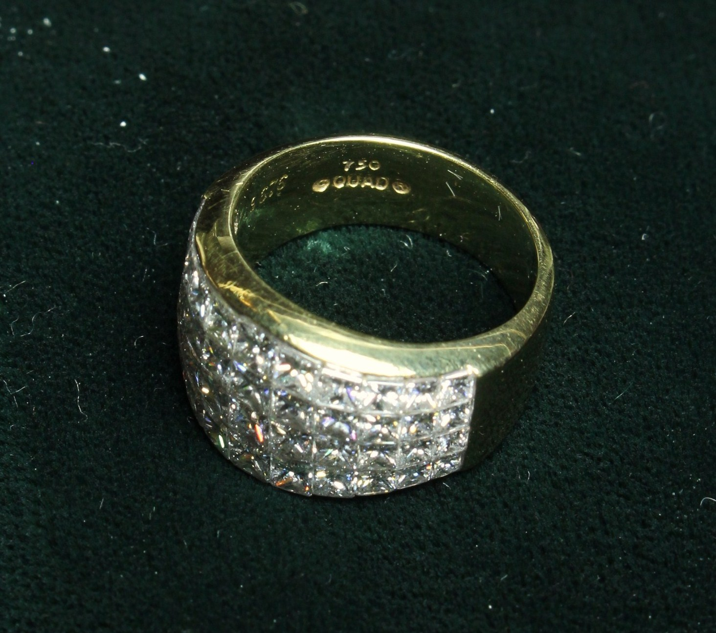 An Impressive Lady's 14ct Yellow Gold Ring, - Image 6 of 7