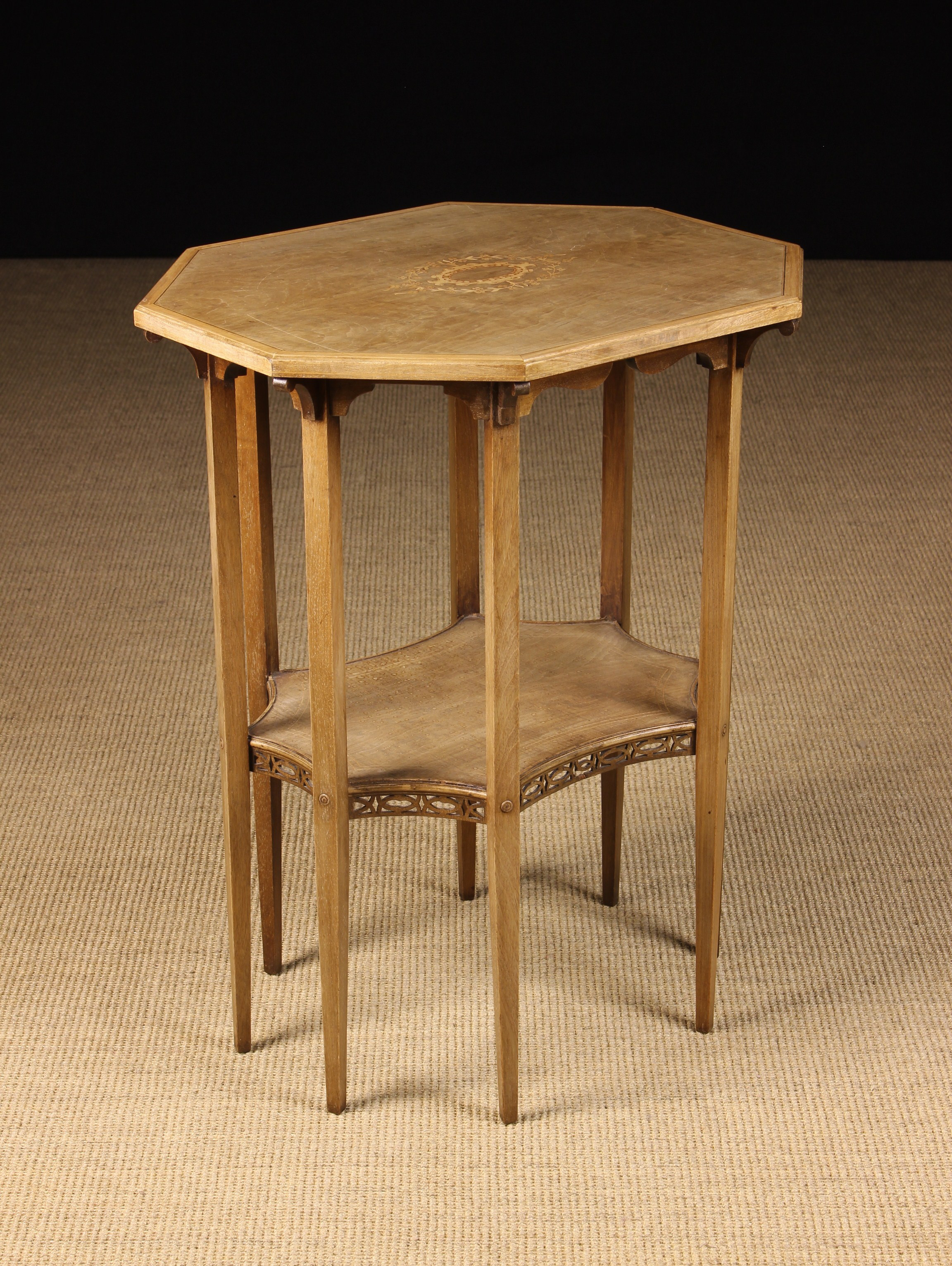 An Edwardian Style Two Tier Occasional Table.