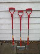 Three new Wolf garden tools RRP £60