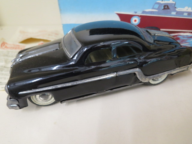 A boxed Vasper RAF crash tender and a boxed Minister friction drive tinplate car, both reasonably - Image 3 of 3