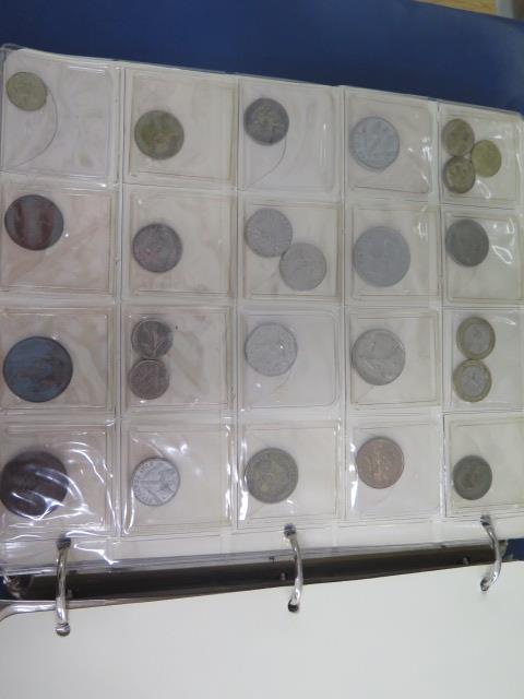 An album of English coins and an album of World coins - Image 6 of 7