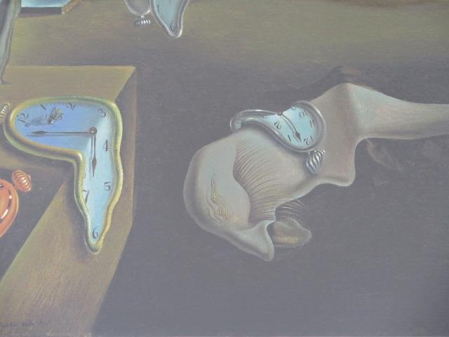 A limited edition gouttelette The Persistence of Memory by Salvador Dali, 33 of 75, in a silvered - Image 2 of 5