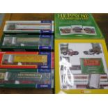 Four Corgi boxed Limited Edition articulated lorries and a Corgi HE Payne Transport set