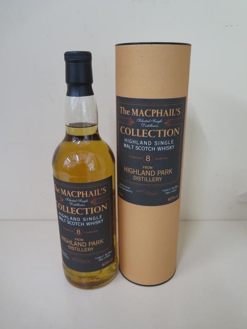 A 70cl bottle of The Macphails collection of Highland single malt Scotch whisky, sealed, level