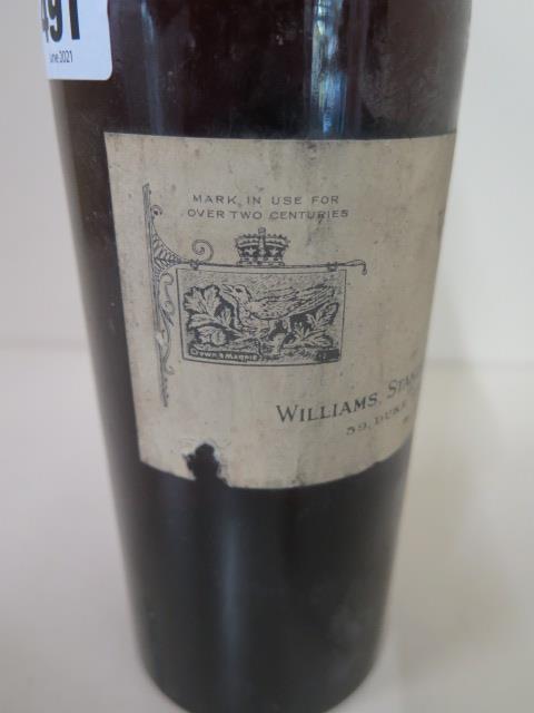 A vintage Port Cockburns 1950 vintage bottled 1952, Williams Standring Sandeman & Heatley Ltd, level - Image 3 of 3