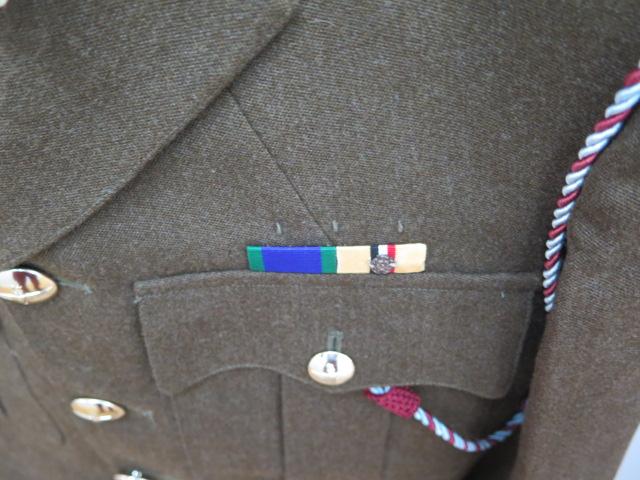 A Parachute Regiment officers uniform including combat gear 1980-1999 and modern Para beret - Image 2 of 5