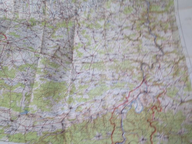 An interesting collection of five WWI trench maps, a reproduction map, an album of postcards Ypres - Image 6 of 8