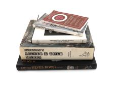 A small collection of five silver reference books, including: Culme, J., The Lion Collection, The