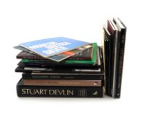 A mixed lot of silver reference books on modern silver, including: Edited by Devlin C., and