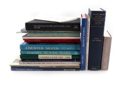 A collection of silver reference books, Assay Offices, including: Hartop, C., East Anglian Silver,