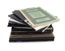 A large collection of Sotheby's auction catalogues, including: Royal French Silver, The Property