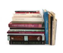A collection of silver reference books on foreign silver, comprising: Catalogue of Scandinavian