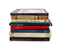 A collection of silver reference books, comprising: Penzer, N., Paul Storr, Hamlyn Publishing Group,