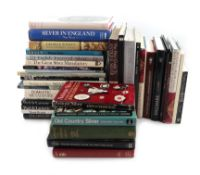 A collection of silver reference books, including: Waldron, P., The Price Guide to Antique Silver,