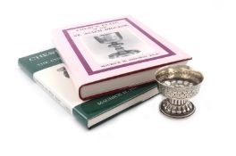 A silver replica of the Holms Cup, by Nathan & Hayes, Chester 1912, the circular bowl with an
