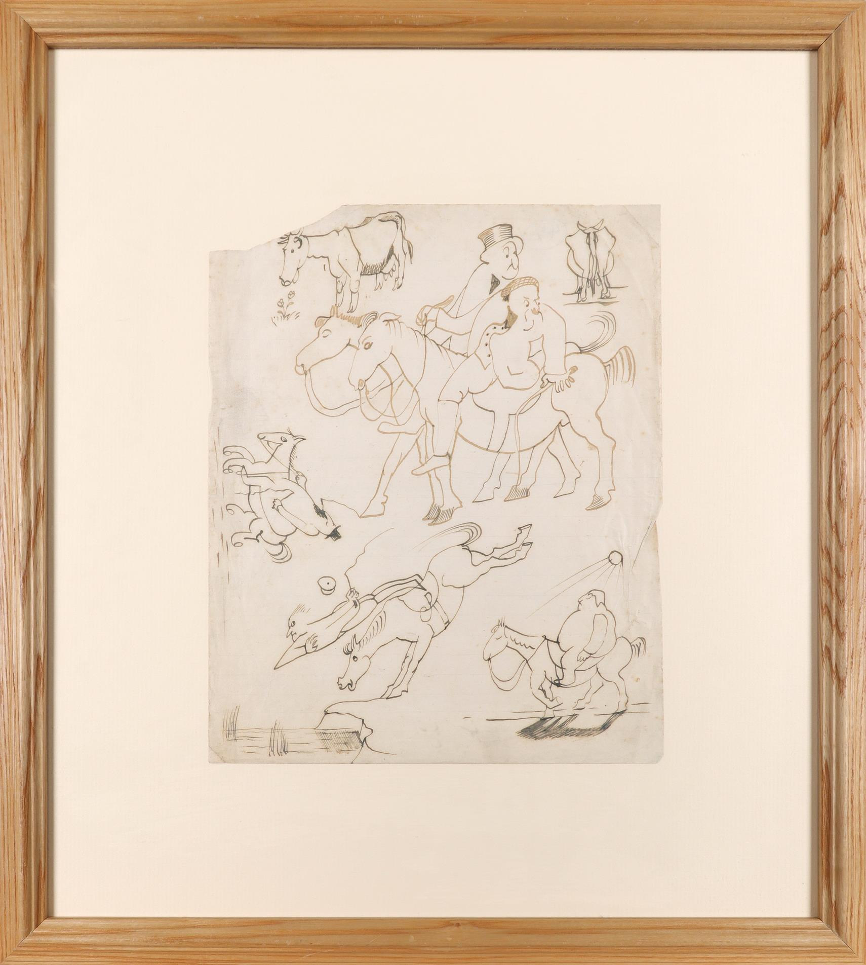 ‡John Nash CBE, RA (1893-1977) Horse play; How To Get Married Two, the latter signed John Nash ( - Image 3 of 6