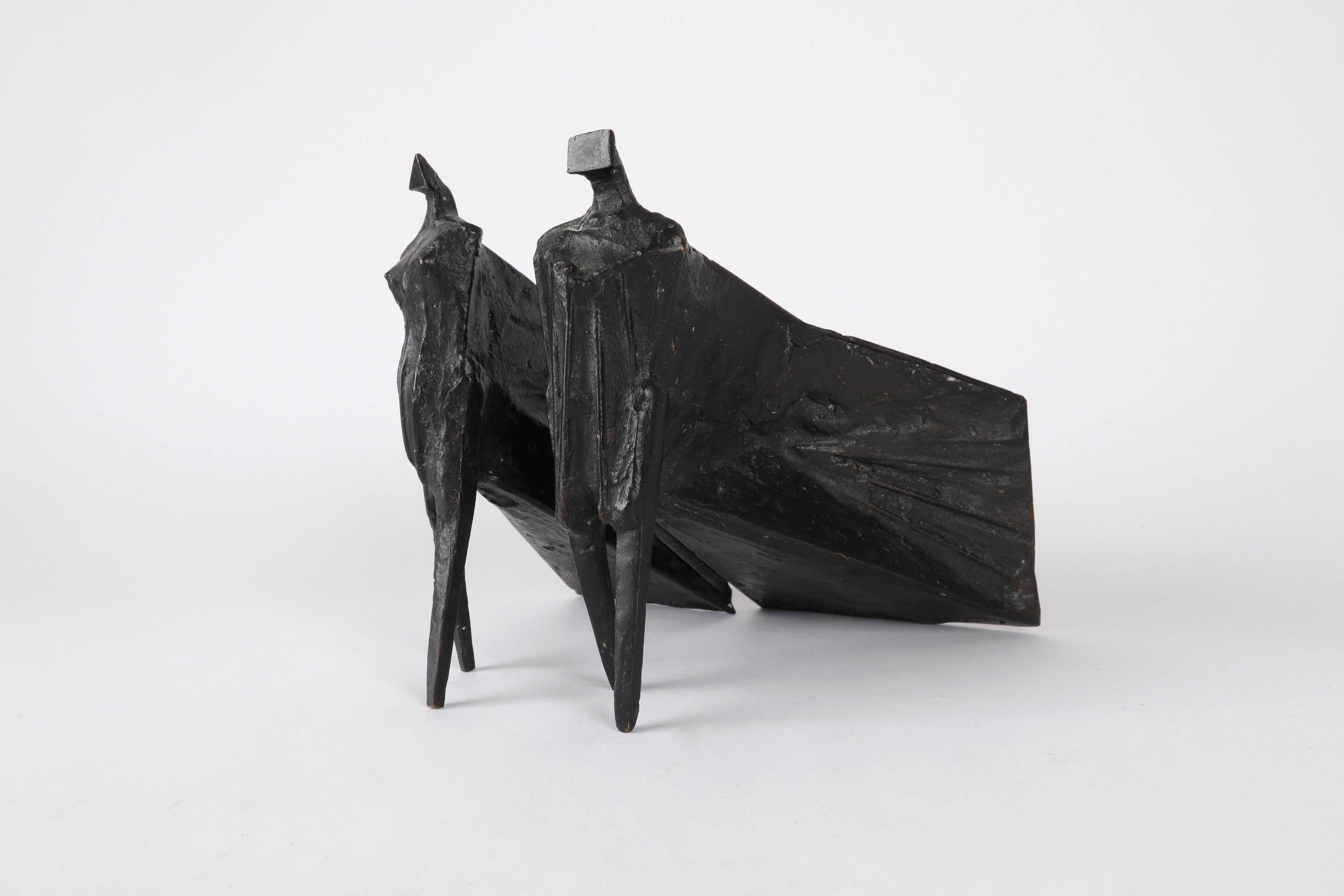 ‡Lynn Chadwick CBE, RA (1914-2003) Pair of Cloaked Figures III Each signed dated and numbered C/77/ - Image 13 of 22