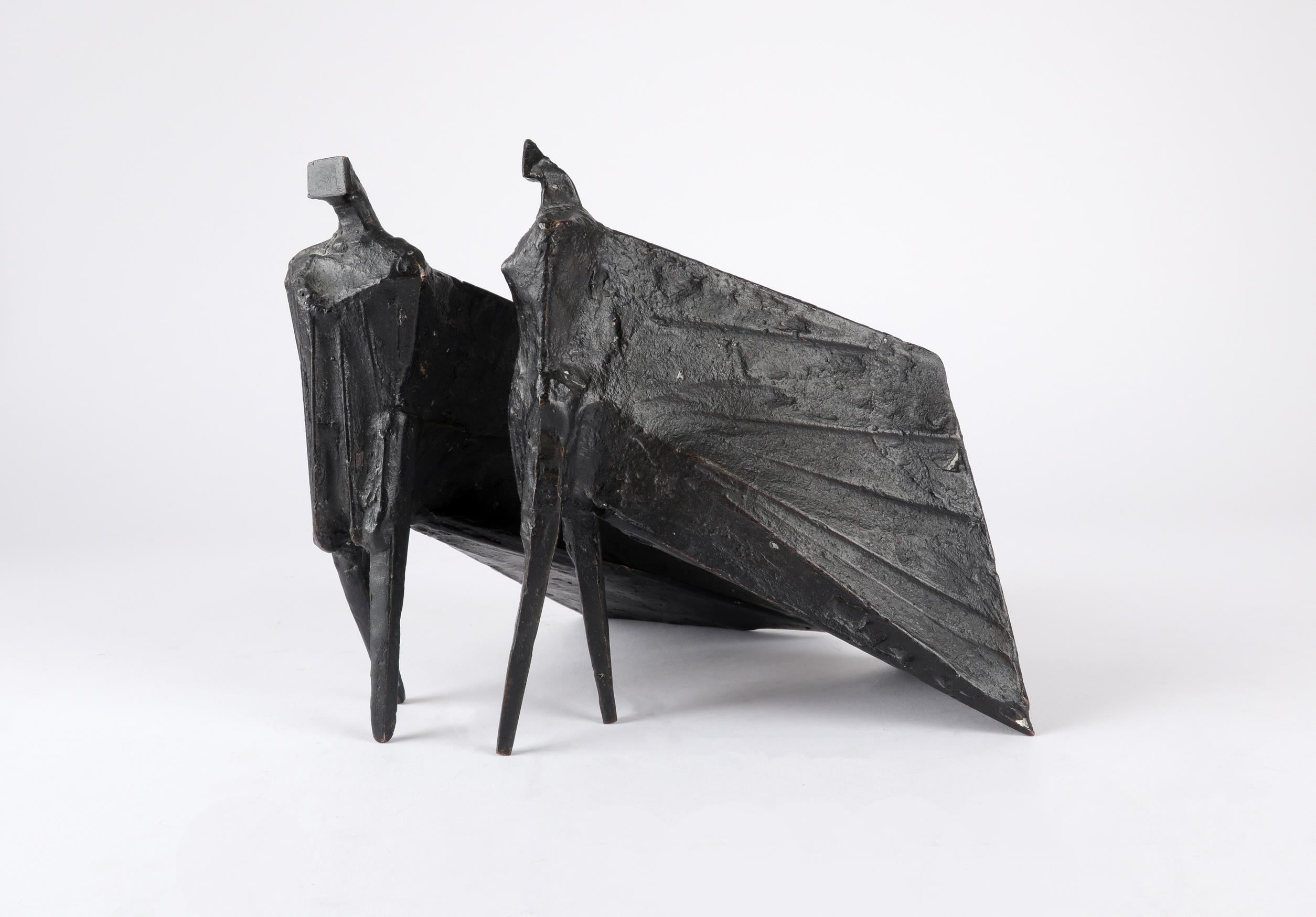 ‡Lynn Chadwick CBE, RA (1914-2003) Pair of Cloaked Figures III Each signed dated and numbered C/77/ - Image 18 of 22