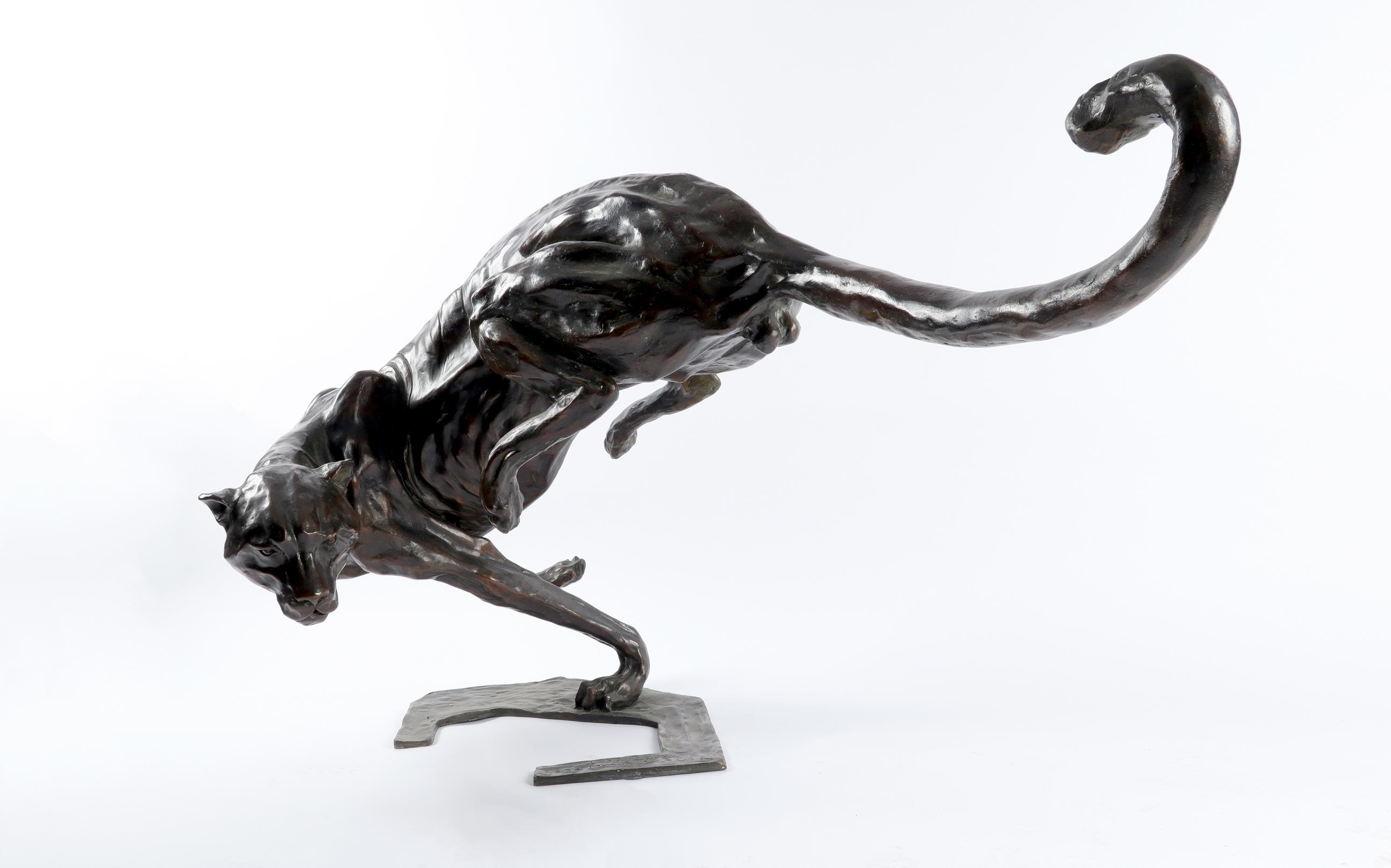 ‡José Maria David (French 1944-2015) Cheetah Signed, numbered and dated 14 NOV 2000/Jose Maria - Image 3 of 4
