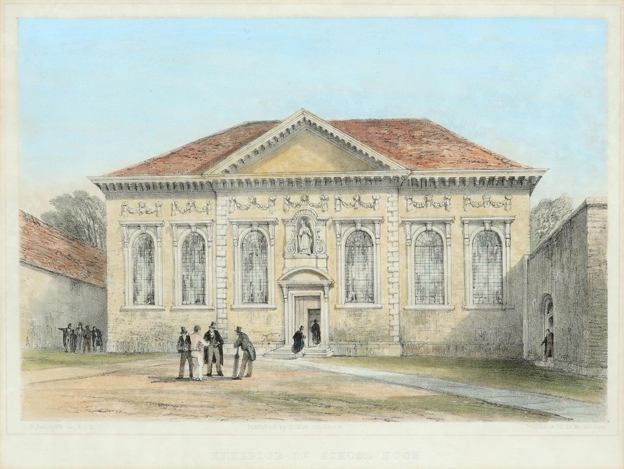 ‡Bernard Cecil Gotch (1876-1963) Old Cloister, Winchester College; School, Winchester College Two, - Image 4 of 12