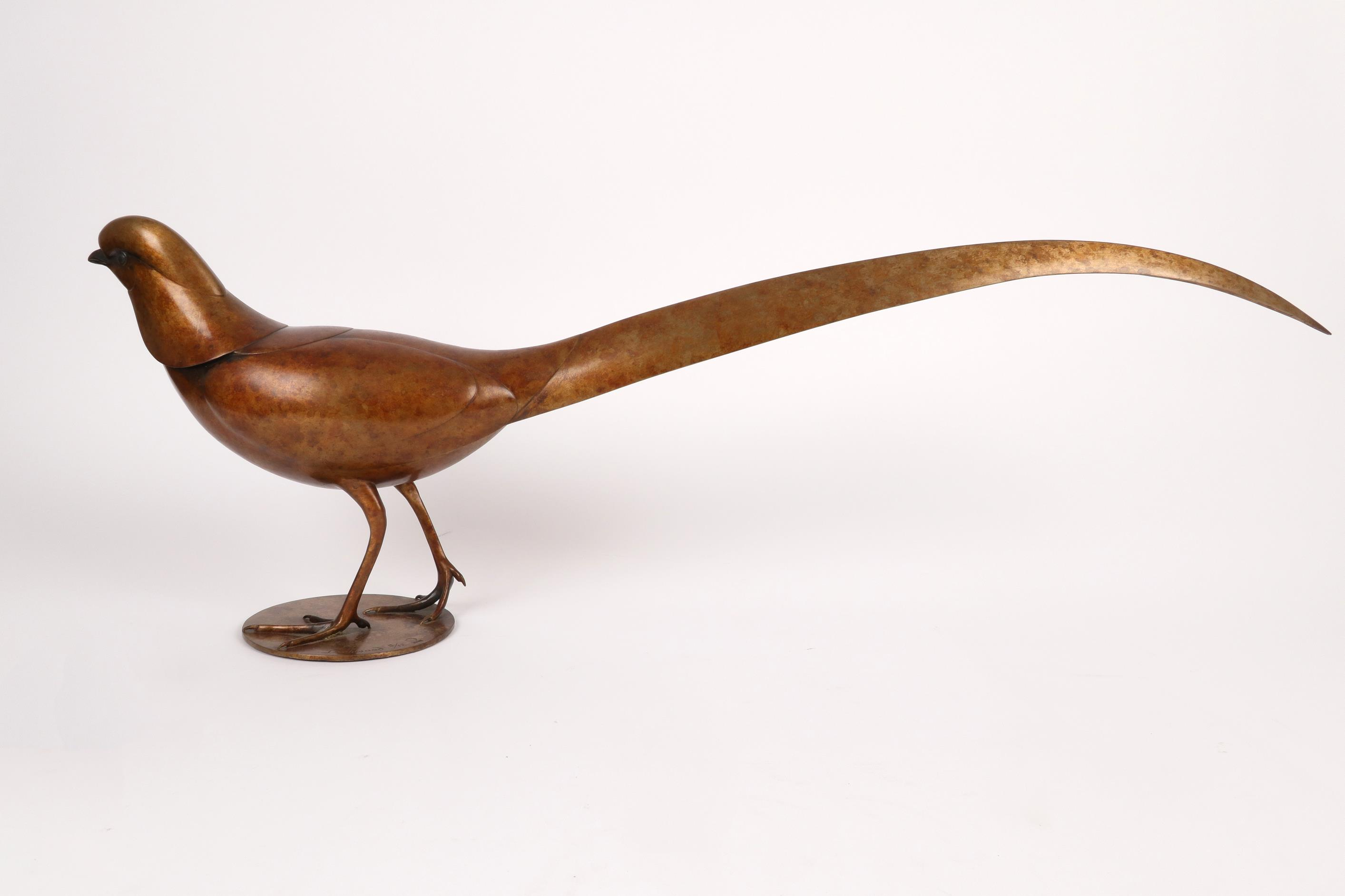 ‡Geoffrey Dashwood (b. 1947) Golden Pheasant Signed and numbered Dashwood 5/12 and with Pangolin - Image 3 of 4