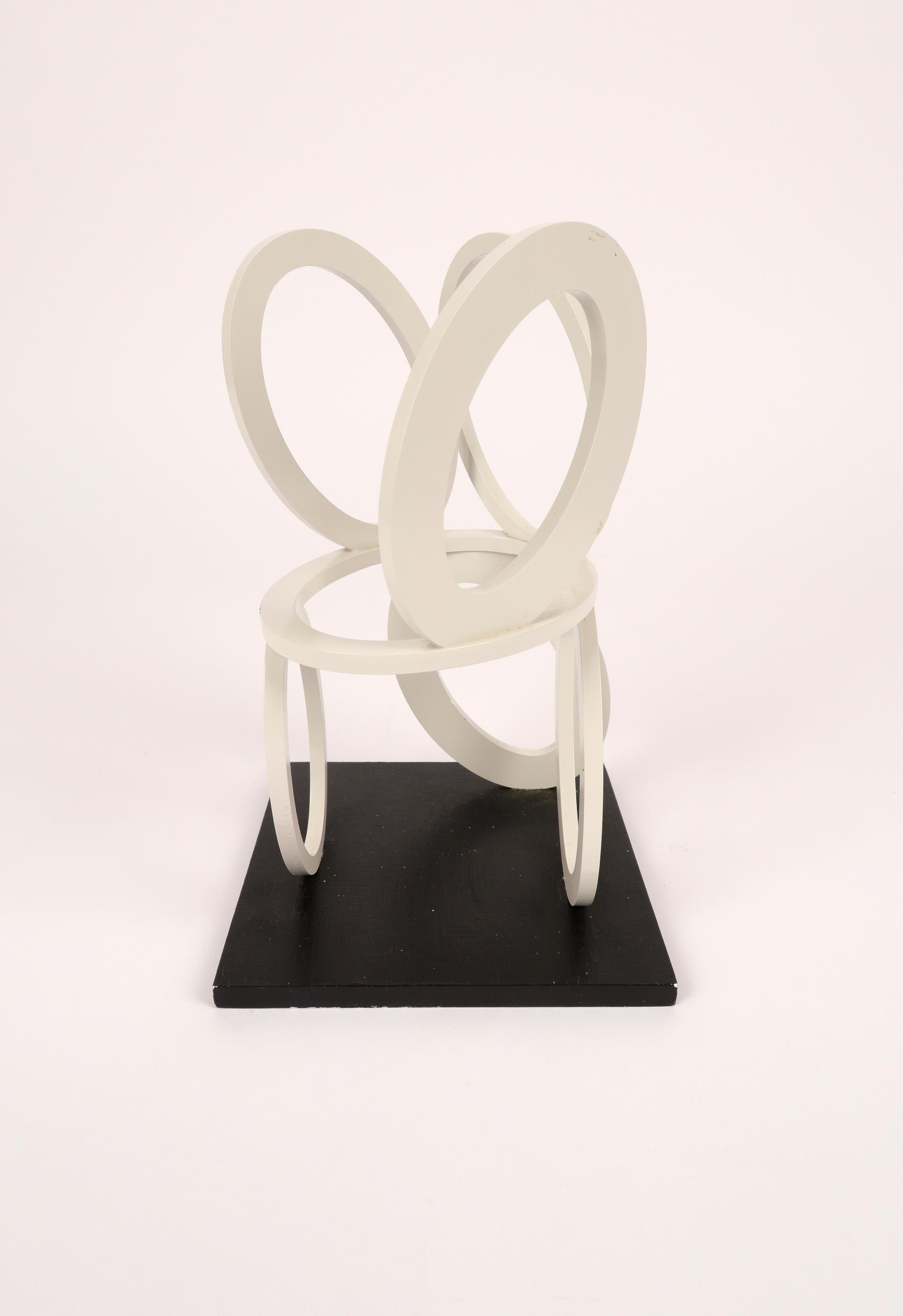 ‡Nigel Hall RA (b.1943) Slow Motion Maquette Signed, dated and inscribed SLOW MOTION/MAQUETTE/ Nigel - Image 4 of 4