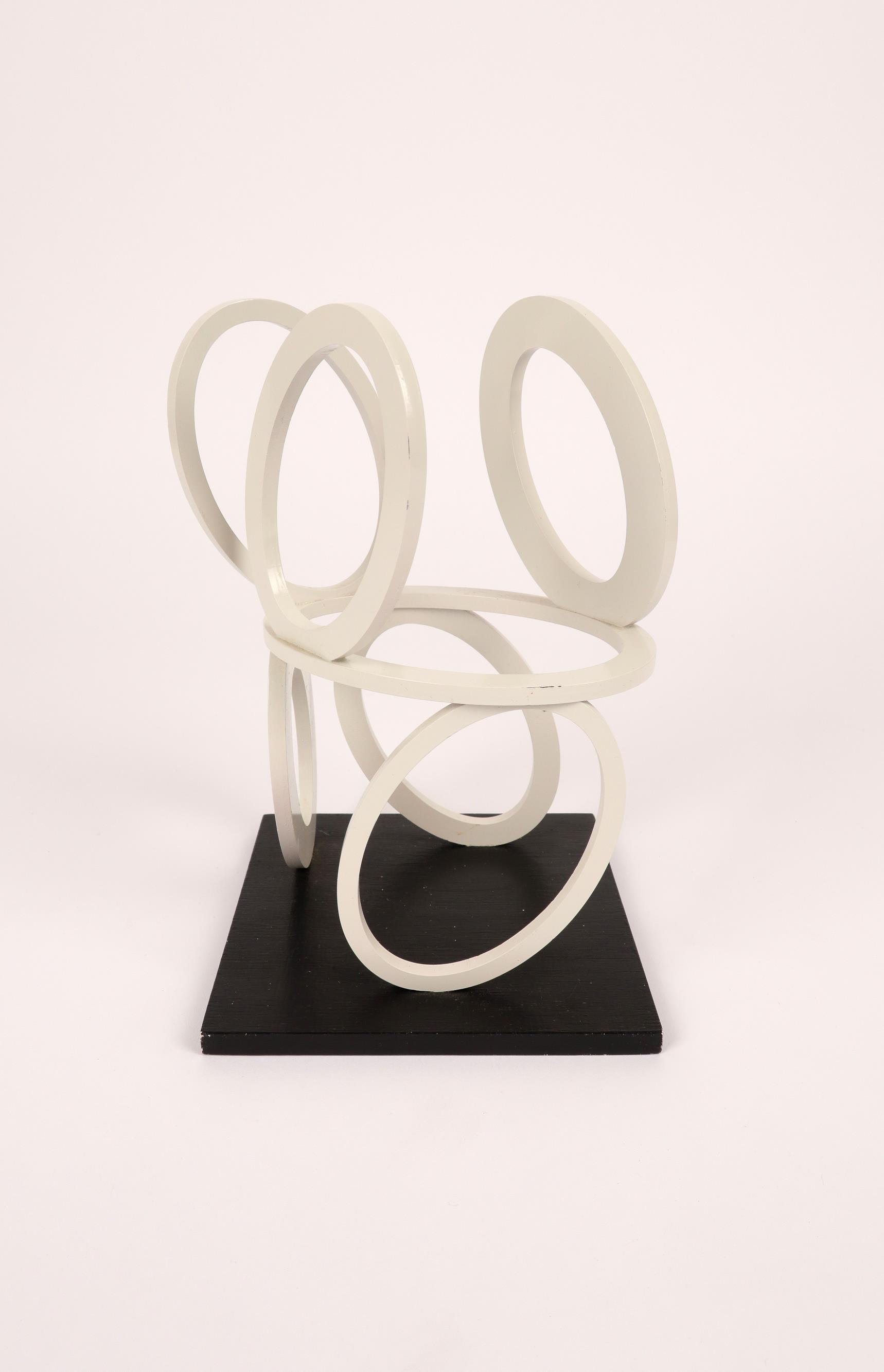 ‡Nigel Hall RA (b.1943) Slow Motion Maquette Signed, dated and inscribed SLOW MOTION/MAQUETTE/ Nigel - Image 3 of 4