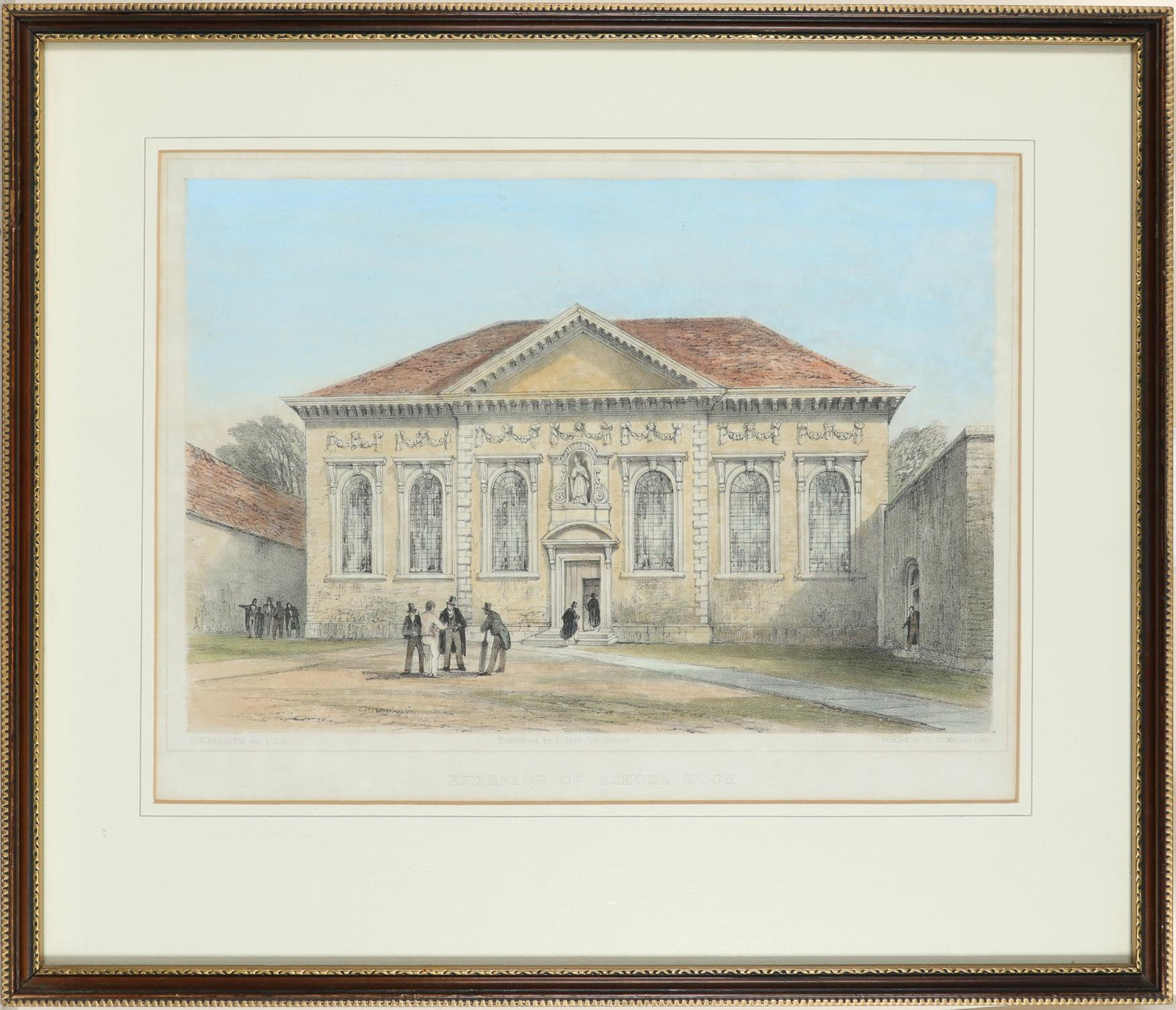 ‡Bernard Cecil Gotch (1876-1963) Old Cloister, Winchester College; School, Winchester College Two, - Image 8 of 12