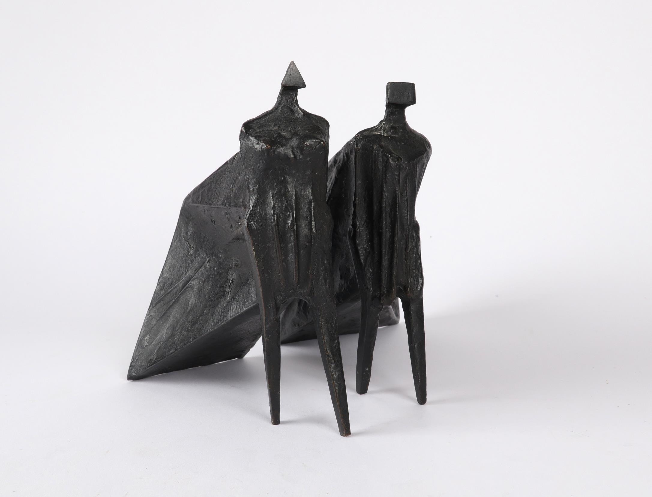 ‡Lynn Chadwick CBE, RA (1914-2003) Pair of Cloaked Figures III Each signed dated and numbered C/77/ - Image 14 of 22