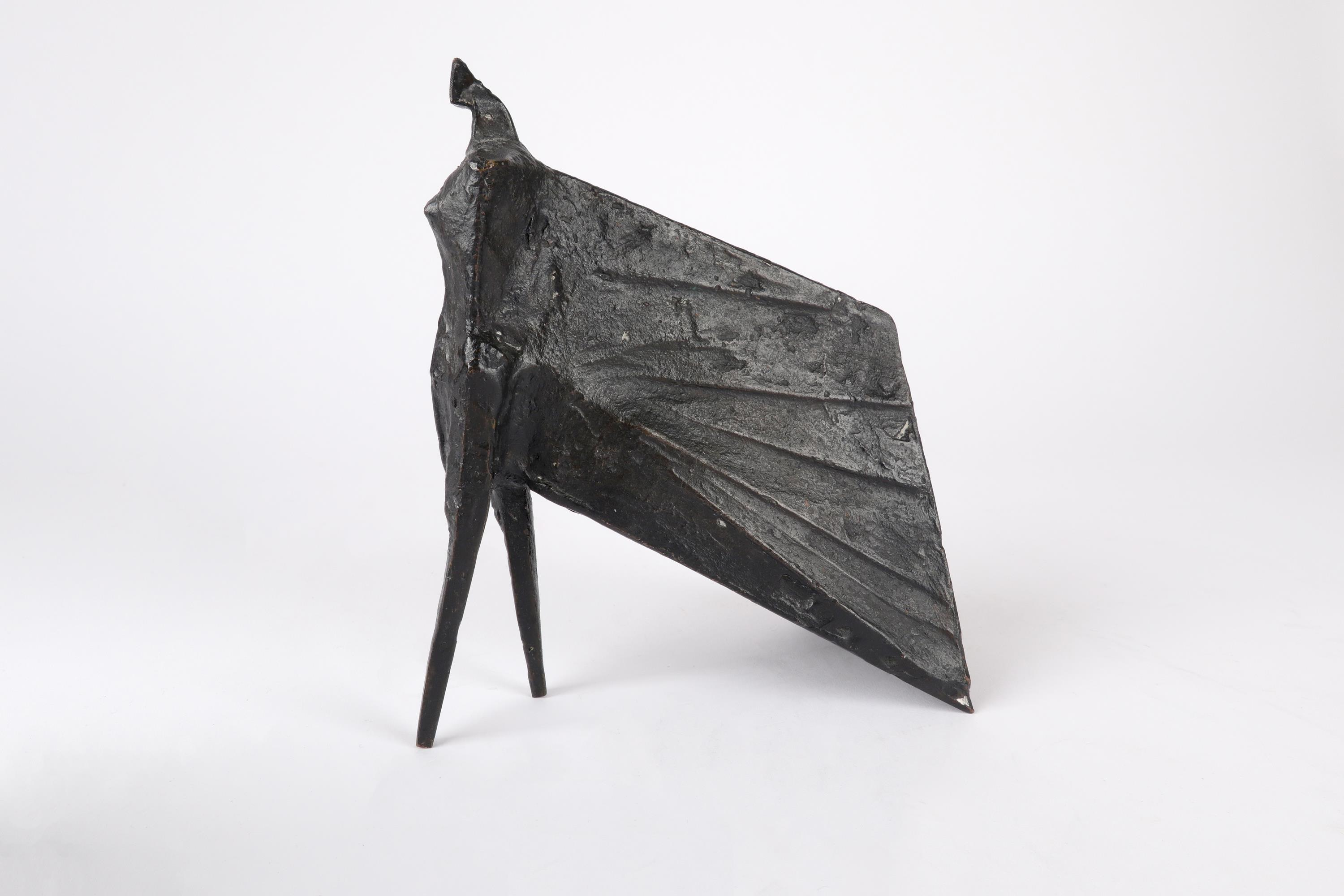 ‡Lynn Chadwick CBE, RA (1914-2003) Pair of Cloaked Figures III Each signed dated and numbered C/77/ - Image 4 of 22