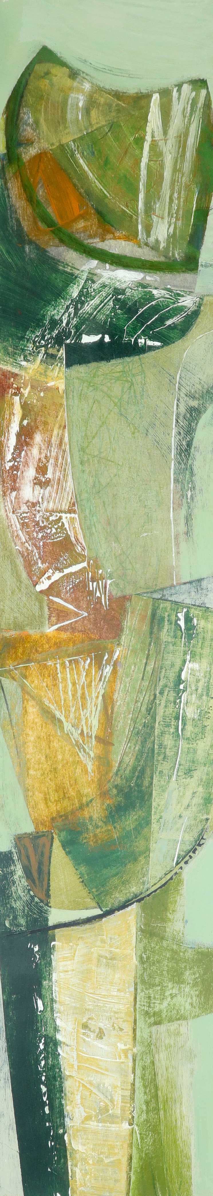 ‡Peter Joyce (b.1964) To Pen Hill Signed with initials and dated PJ '07 (lower left), and signed,